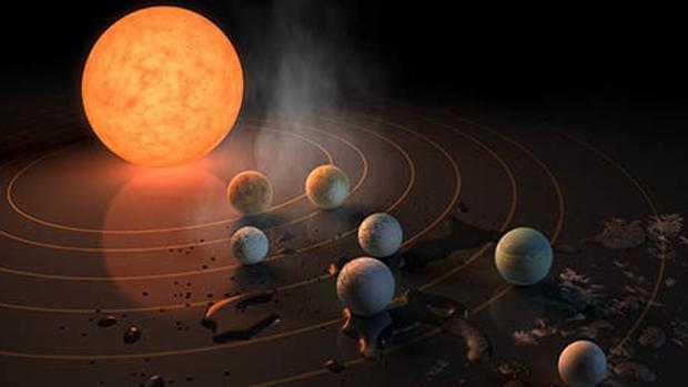 Astrónomos ya buscaron señales de vida inteligente en el nuevo sistema solar