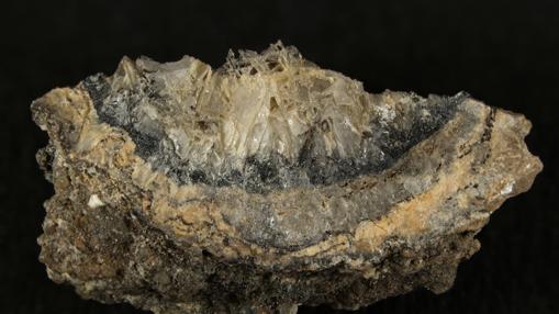 «Abhurita», un mineral hallado en el naufragio del SS Cheerful (a 14 millas de Cornwall, Inglaterra)