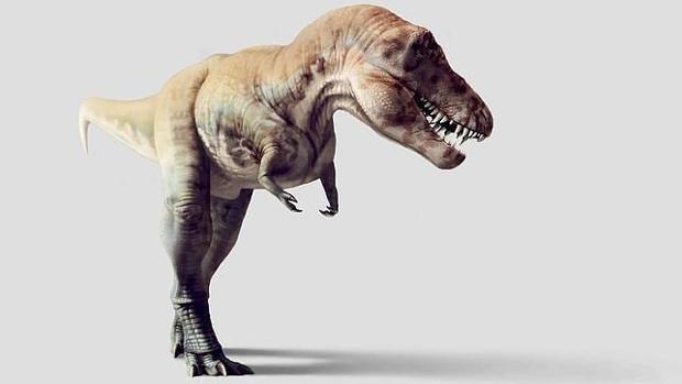 Recreación de un Tiranosaurio rex