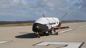 El misterioso avión espacial X37B, en una imagen de archivo