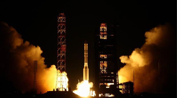 Un cohete Proton-M ruso lanza un satélite de comuniaciones estadounidense