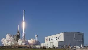 Lanzamiento del Falcon 9 desde Cabo Cañaveral, este viernes