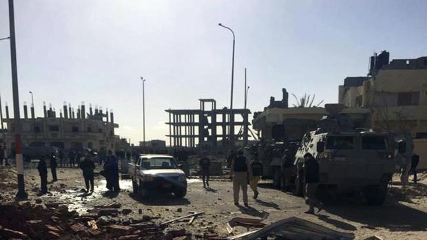 Daesh se aferra al Sinaí pese a la intensa campaña militar egipcia