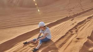 En el desierto la deshidratación y la insolación pueden ser letales