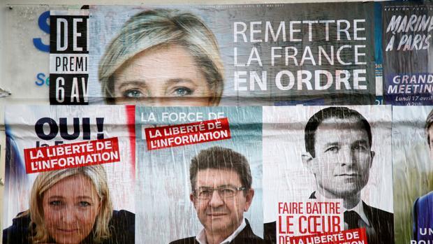 La mitad de los franceses votarán a políticos extremistas en las próximas presidenciales