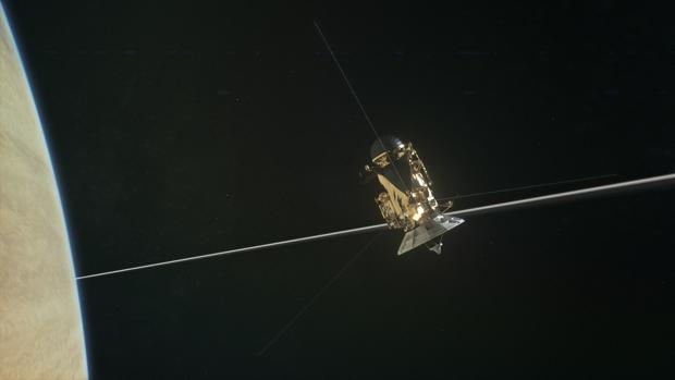 La sonda Cassini encuentra el Gran Vacío cerca de Saturno