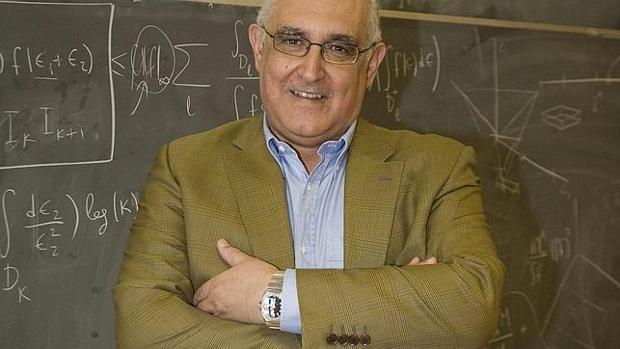 El matemático Manuel de León