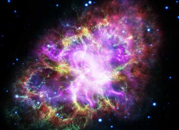 La nebulosa se formó cuando estrella creó una enorme explosión, hace unos 7.500 años