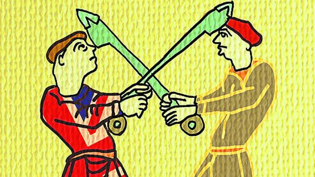 Mitos guerreros