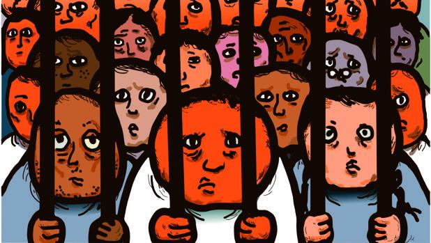 Cien prisioneros deben decidir si confesar o no, pero su decisión afecta a los demás