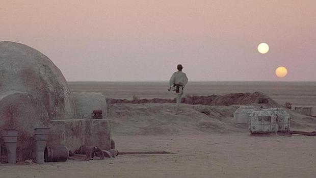 Un paseo, normal y corriente, por Tatooine, el mundo ficticio de Star Wars