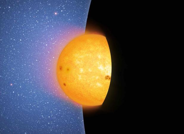 Cuando una estrella atraviesa el horizonte de sucesos es engullida y separada del Universo observable para siempre