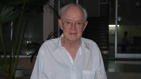 Eugene Parker en el año 2007