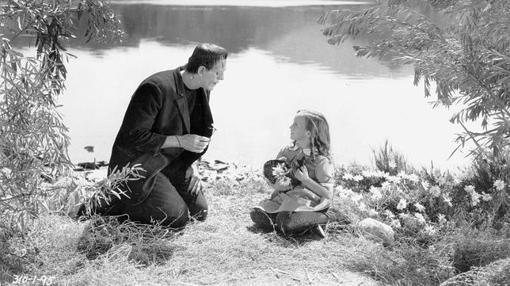 Fotograma de la película Frankenstein (1931), inspirada en la obra de Shelley