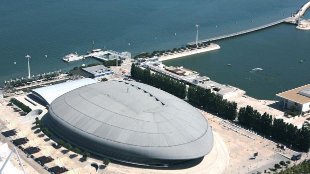El MEO Arena, posible sede de Lisboa 2018