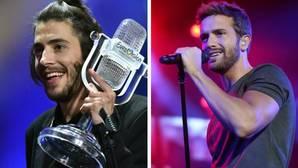 Pablo Alborán canta el tema ganador de Eurovisión 2017 y lo sube a Instagram