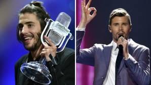 El discurso de Salvador Sobral tras ganar Eurovisión 2017 indigna a sus rivales