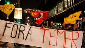 Protestas esta madrugada en Sao Paulo