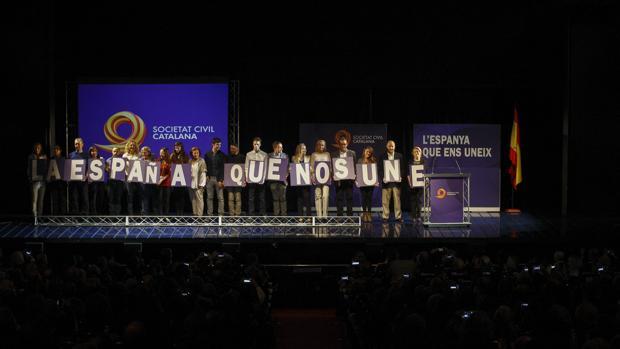 Societat Civil Catalana denuncia el deterioro democrático en Cataluña