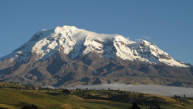 El Chimborazo, la cima más alta cercana al Ecuador