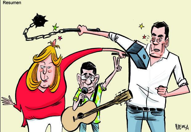 ¿Quién ganará las primarias del PSOE? Los columnistas de ABC hacen sus apuestas