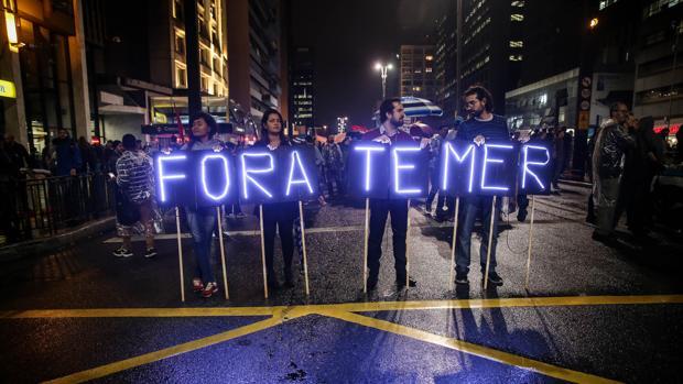 Miles de brasileños gritan «Fuera Temer» y exigen elecciones ante las sospechas de corrupción