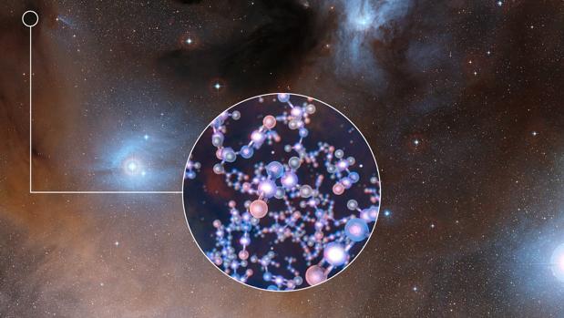 El telescopio ALMA detecta isocianato de metilo alrededor de estrellas jóvenes de tipo solar