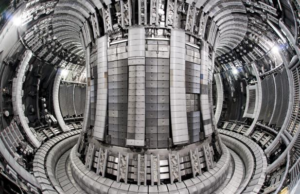 Interior de un prototipo similar al ITER