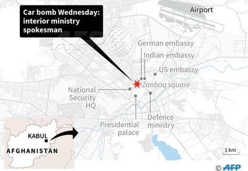 Resultado de imagen de atentado en Kabul