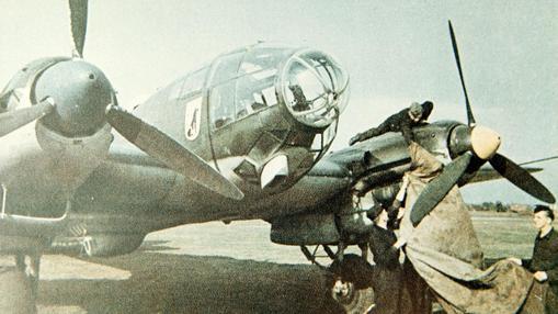 El bombardero He 111 aterrorizó a la población de Londres durante el «blitz»