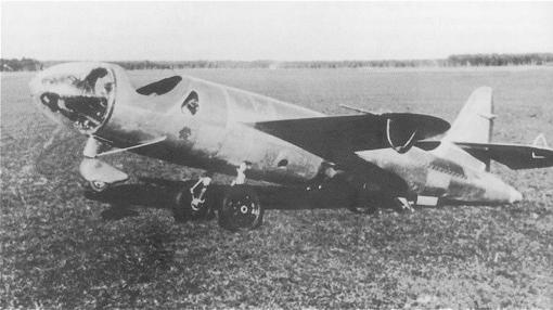 Único ejemplar construido del Heinkel 176