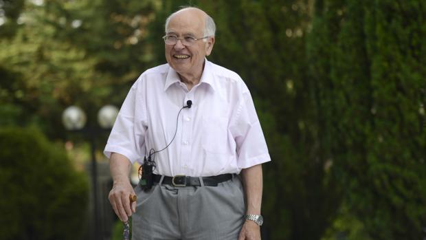 Michael Atiyah, el jueves en Madrid