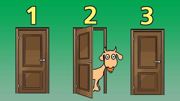 En el programa «Let's make a deal» los concursantes tenían que escoger entre tres puertas. Solo una escondía un fabuloso premio