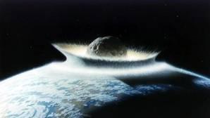 Recreación de una gran colisión. Se cree que Apofis mide unos 370 metros y que podría devastar regiones enteras