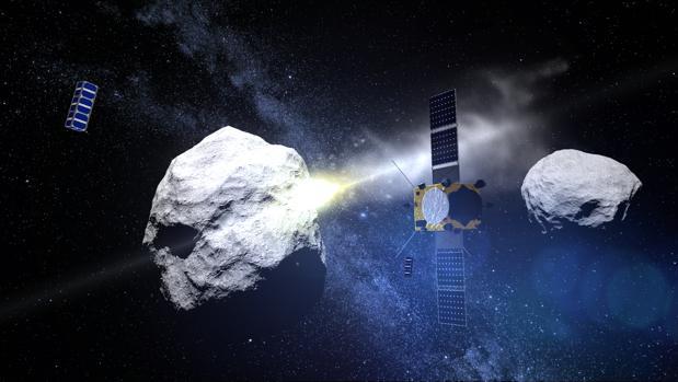 El objetivo de la misión es hacer chocar una sonda contra el asteroide Didymos b y desviarlo un uno por ciento