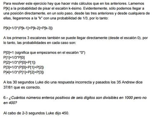 Eres capaz de resolver estos siete problemas matemáticos? Un chaval ...