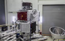 El satélite, ensamblado