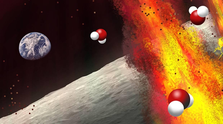 Nuevas evidencias de agua en el interior de la Luna