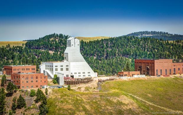 Laboratorio Sanford, en una mina de oro abandonada, donde se construirá el gran detector de neutrinos LBNF