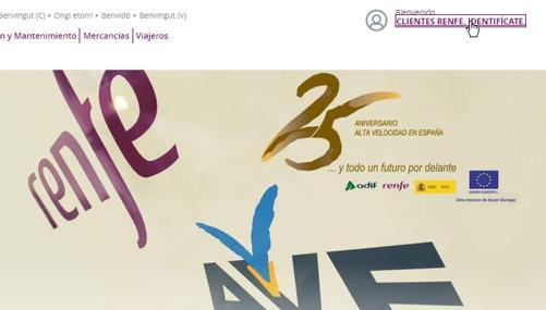 Logo 25 aniversario de la Alta Velocidad Española