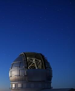 Imagen del Gran Telescopio Canarias