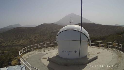 Telescopio MASTER-IAC, en el observatorio del Teide