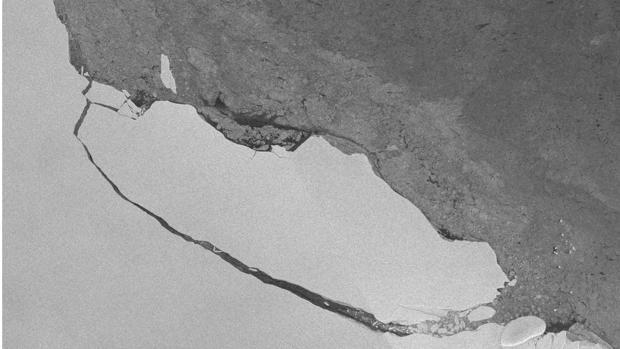 El iceberg tiene 5.800 kilómetros cuadrados y es uno de los mayores nunca registrados