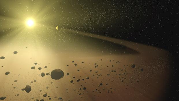 Una supernova dio origen al Sistema Solar