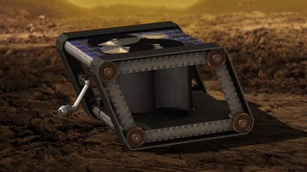 El rover mecánico para recorrer la ardiente superficie de Venus