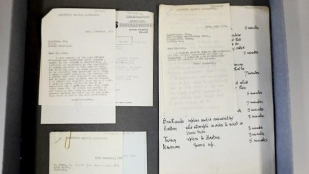 Las cartas de Alan Turing