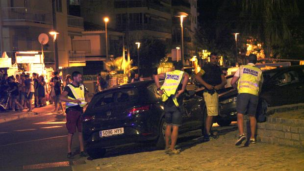 Imagen de la acción policial contra los terroristas en Cambrils