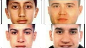 Los cuatro fugitivos a los que busca la Policía por los atentados en Cataluña