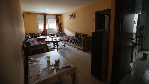 Imagen del piso en el que vivía Younes Abouyaaqoub