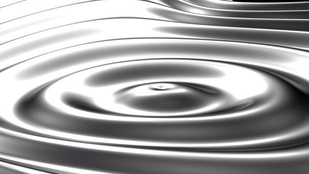 Los griegos se referían al mercurio con el término «hydragyros», que significa «agua» y «plata»
